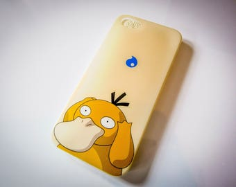 Psyduck Fashion Pokemon GO Foam Phone Back Case Cover For iPhone 5 5S SE 6 6+ 7 7+ X