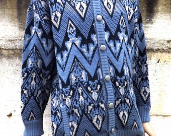 Cardigans Men's vintage 80's made in Italy M