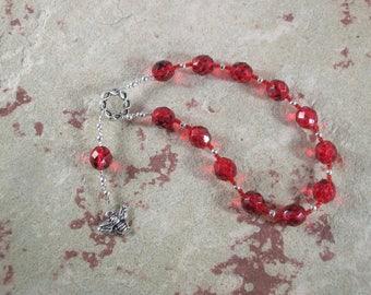 Lemminkainen Pocket Prayer Beads: Finnish Hero God, Trickster God