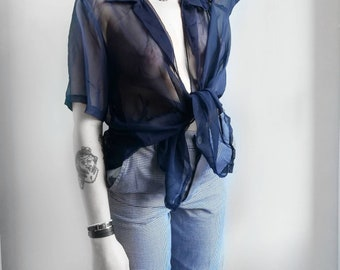 Durchsichtige Bluse Vintage   Vintage shirt