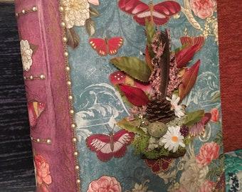 Fairytale Butterfly Dress diorama book