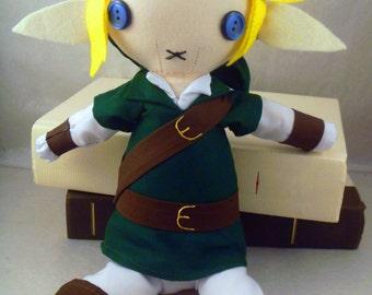 Plush Green Link from Legend of Zelda