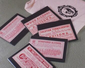 Vintage Pharmacy Labels