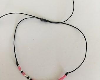 """""""Sister"""" morse code bracelet"""