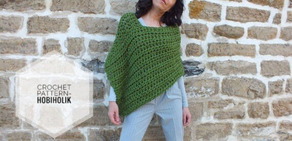 Crochet Pattern Pattern Poncho Easy Crochet Poncho Pattern