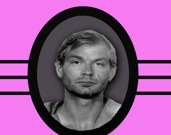 Jeffrey Dahmer Anniversary Card serial killer love marriage murder