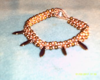 Pearls and Daggers Bracelet