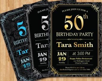 40th Birthday Invitation For Men Cheers Amp Beers Invitation