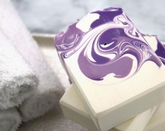 Bar Soap - Lavender Soap - Floral Hand Soap - Floral Body Soap - Lavender Skincare - Spa Gift - Artisan Soap - Lavender Scented Soap