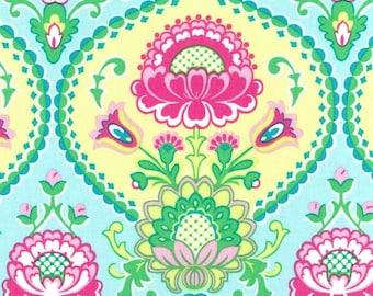 Lavinia (Aqua) - Happy Tones - Michael Miller Fabrics - 1 Yard