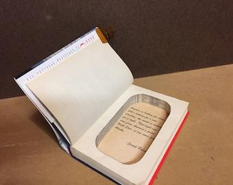Sarah Palin Going Rogue Book Safe / Book Nook / Hollow Book
