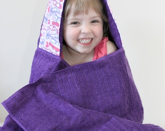 Gifts for Girls - Girls Hooded Towel - Birthday Gifts - Towel Hoodie - Gift for Dancers - Hooded Towel - Beach Gifts for Girls - Girls Towel