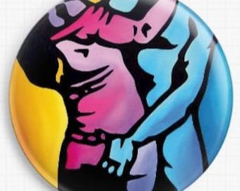 Needle Minder - Intimate - Licensed Art By Thomas Fedro - Cross Stitch Keeper - Fridge Magnet