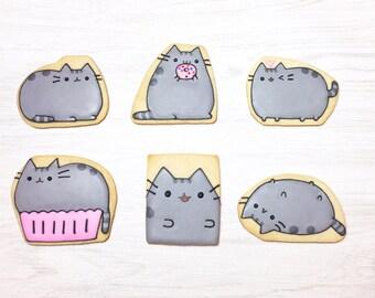 Pusheen The Cat Sugar Cookies