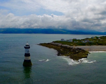 Lighthouse, Fine Art Photography Print, Wall Decor, Home Decor, Isle of Anglesey, Wales