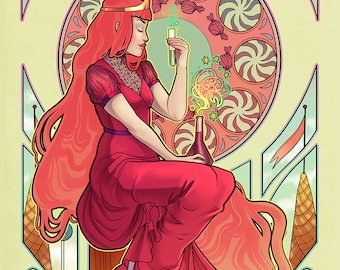 The Princess of Candy 11x17 Print