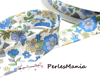 50 cm of bias tape liberty 20mm romantic 4800 16 collection, DIY
