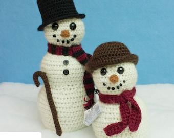 The Snowmen of Westminster Crochet Pattern