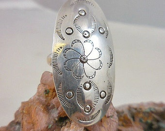 Native American Sterling Silver Ring