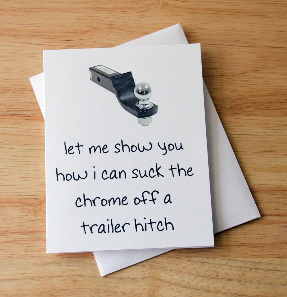Naughty Card Dirty Card Boyfriend Gift Funny Card Oral