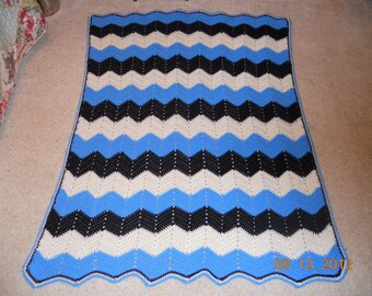 Wavy Ripple Blanket
