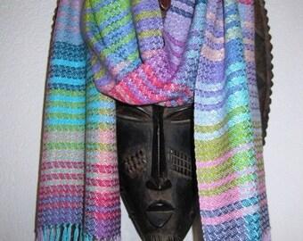 RESERVED Handwoven Silk Scarf - Custom Order