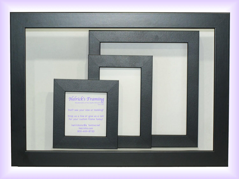 4 x 4-20 x 30 negro personalizado Marcos tamaños de encargo