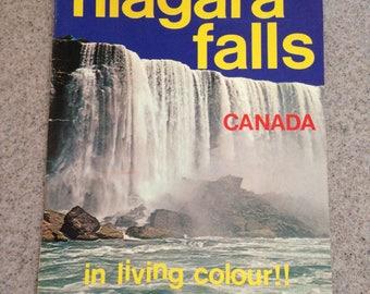 Vintage 1960's Niagara Falls Souvenir Book