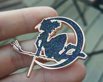 Kaname Madoka Glitter Pin