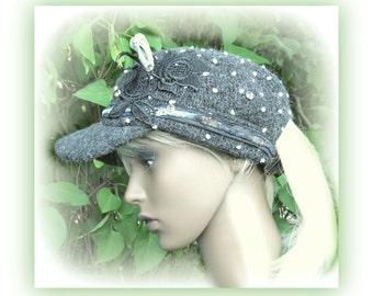 embellished hat, baseball hat, fashion cap, hat cap womens, trucker hat for women,  # 4