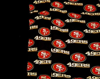Hand Crafted San Fransico 49ers Print Blanket