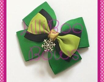 Handmade Anna Coronation Frozen Inspired Hair Bow