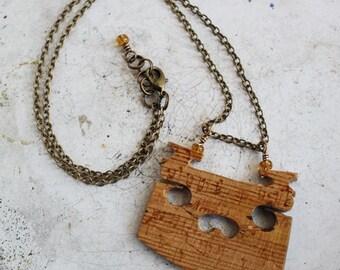 Violin/ Viola Bridge Necklace