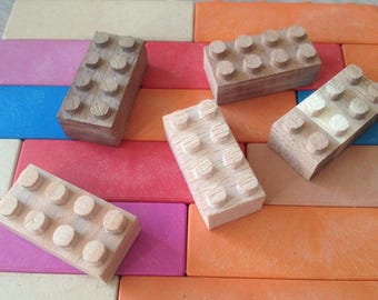 Wooden LEGO Bricks - Special Edition