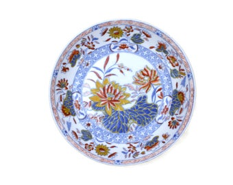 Small Bowl, Antique Spode, Colorful Bowl, Imari Colors, Copeland & Garrett, Spode of England, c1830s
