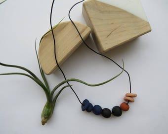 Freda // clay necklace
