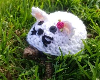 Cat/Kitten Costume for Turtles/ Tortoises (Please Provide Measurements)