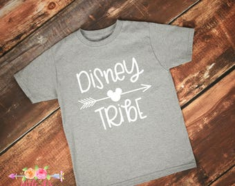 Disney Tribe, Matching vacation shirts, Matching family shirts, Vacation, Take me to the mouse, Happiest place on earth, Family shirts