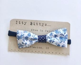Baby Headband Itty Bitty Headband Small Bows  Infant Headband Small Bow Headband Baby Accessory Infant Bow Baby Bow Floral Headband
