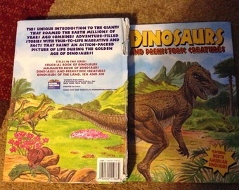 DINOSAURS Vintage Storybook Educational for BOYS and GIRLS