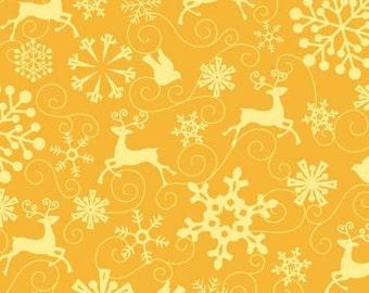 1 yard Prancing from Ho Ho Ho Let it Snow by Nancy Halvorsen