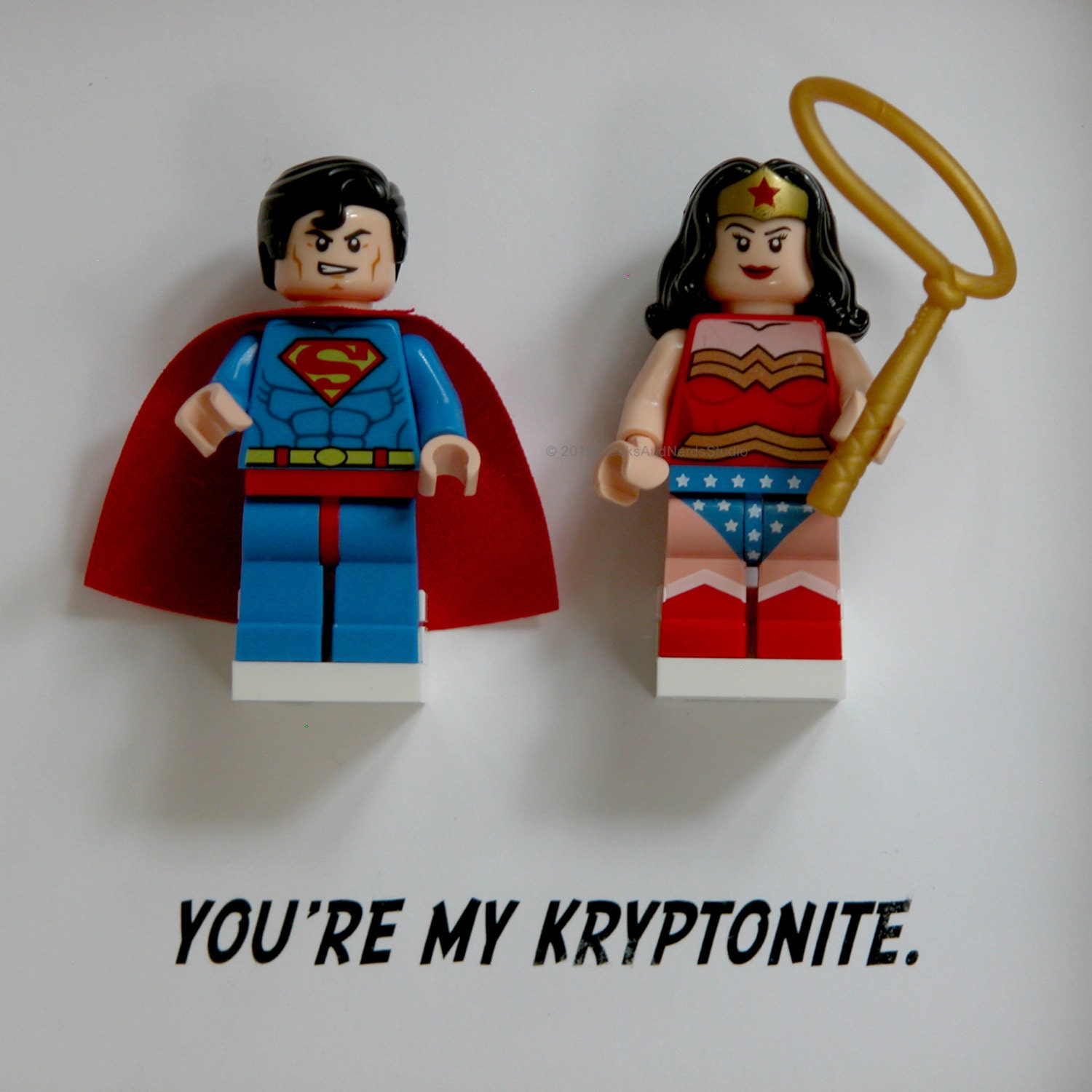 ?zoom  sc 1 st  Etsy & LEGO Art Frame Wonder Woman Superman u0026 Wonder Woman Frame
