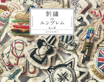 "Japanese Handicraft Book""Embroidery Emblem A to Z""[4579115864]"