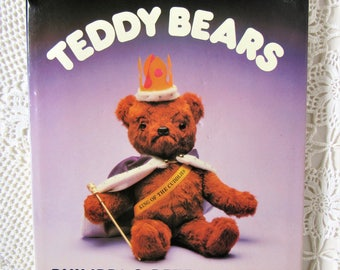 Teddy Bear Book.In Praise of Teddy Bears. Philippa & Peter Wearing. History of Teddy Bears. Illustrated  Hardback Book  1980.