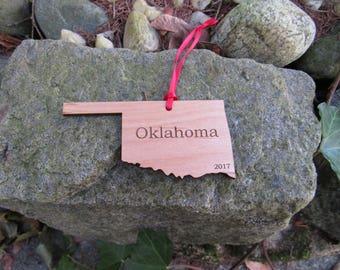 Oklahoma State Ornament