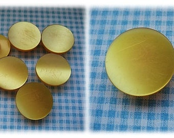 Egg Yolk Yellow Buttons