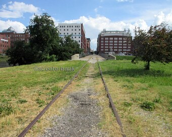 The Old Streetcar Line Instant Download Digital Photography