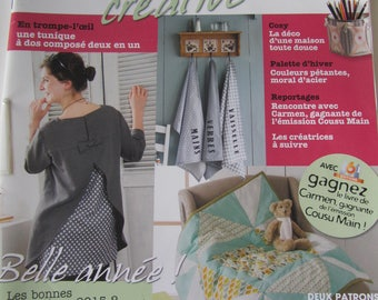 "Magazine ""Creative sewing Passion"" - number 7 - January/February/March 2015"