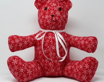 Red Snowflake Bear