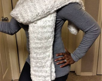 Long Crocheted Scarf